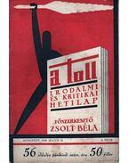 A toll 5. szám (1929. május 19.) - Zsolt Béla
