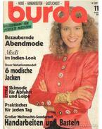 Burda 1989/11 (német nyelvű) - Susanne Reinl (szerk.), Ingrid Küderle (szerk.)