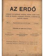 Az erdő 1908. évfolyam (teljes) - Sugár Károly (szerk.)