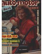 Autó-Motor 1987. (hiányos) - Pongrácz György