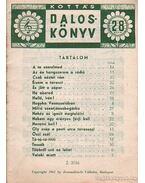 Kottás dalosköny 28. szám - Tardos Béla