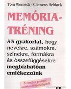 Memóriatréning - Werneck, Tom, Heidack, Clemens