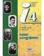 Irodalmi szöveggyűjtemény 4 - Dr. Mohácsy Károly, Dr. Vasy Géza