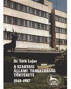 A Szarvasi Állami Tangazdaság története 1948-1987. - Dr. Tóth Lajos