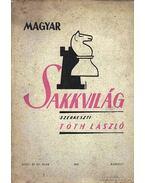 Magyar Sakkvilág 1950. március III. szám - Tóth László