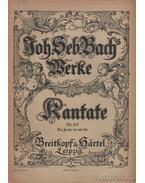 Kantate Nr. 158 - Bach, Johann Sebastian
