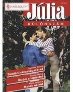 Tündéri házasságszerző - Őrzöm a lépteidet - Maszk nélkül 2002/5.Júlia különszám - Darcy, Emma, Cross, Charlene, Lawrence, Kim