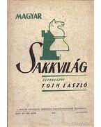 Magyar Sakkvilág 1950. augusztus VIII. szám - Tóth László