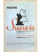 Magyar Sakkvilág 1950. december XII. szám - Tóth László