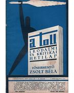 A toll 6. szám (1929. május 26.) - Zsolt Béla