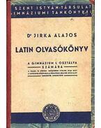 Latin Olvasókönyv - Dr. Jirka Alajos