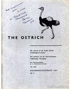 The Ostrich Vol. XXXV. No. 4. 1964 (A strucc 35. évf. 4. szám 1964) - Broekhuysen, G. J. (szerk.)