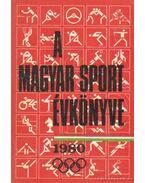 A magyar sport évkönyve 1980 - Sass Tibor