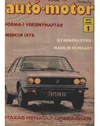 Autó-motor 1978 (hiányos) - Kókai Imre (szerk.)