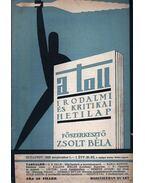 A toll I. évf. 20. sz. (1929. szeptember 1.) - Zsolt Béla