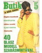 Butik 1993. május - Moldován Katalin