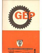 Gép 1975. XXVII. évfolyam 1-12. szám (teljes) - Dr. Lettner Ferenc (főszerk.)