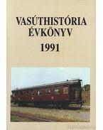 Vasúthistória évkönyv 1991 - Mezei István