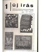 Új Írás 1968 1-12. szám (I-II. kötetben) - Baranyi Gyula