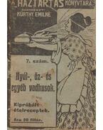 Nyúl-, őz- és egyéb vadhúsok - Kürthy Emilné (szerk.)
