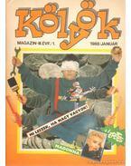 Kölyök magazin 1988. január - Berkes Péter