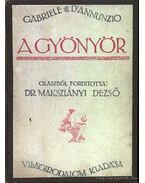 A gyönyör 1919 - D'Annunzio, Gabriele