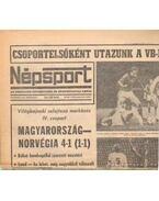 Népsport 1981. November (teljes) - Szabó Béla