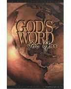God's word for you - The Holy Bible - King James