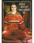 Olasz kötött modellek '89 - Kígyó Erzsébet