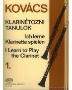 Klarinétozni tanulok 1. - Kovács Béla