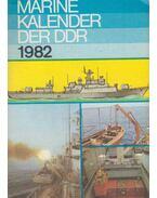Marinekalender der DDR 1982 - Klaus Krumsieg