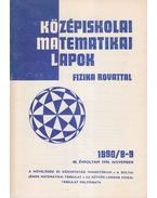 Középiskolai matematikai lapok 1990/8-9. november - Hermann Péter, Lugosi Erzsébet (szerkesztő), Gajzágó Éva