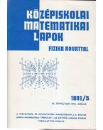 Középiskolai matematikai lapok 1991/5. május - Hermann Péter, Lugosi Erzsébet (szerkesztő), Gajzágó Éva