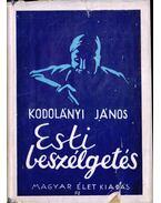 Esti beszélgetés - Kodolányi János