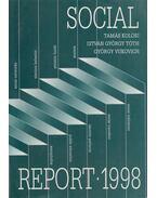 Social Report 1998 - Kolosi Tamás, Tóth István György, Vukovich György