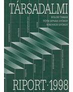 Társadalmi riport 1998 - Kolosi Tamás, Tóth István György, Vukovich György