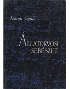 Állatorvosi sebészet - Kómár Gyula