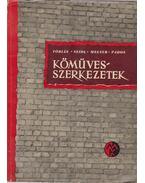 Kőművesszerkezetek - Megyer Attila - Pados Antal - Seidl Ambrus - Tobiás Loránd