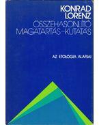 Összehasonlító magatartás-kutatás - Konrad Lorenz