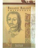 Balassi Bálint emlékkönyv - Konssek Ildikó