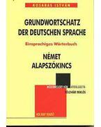 Grundwortschatz der deutschen Sprache - Kosaras István