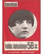 Kottás daloskönyv 58.sz.