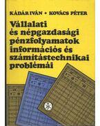 Vállalati és népgazdasági pénzfolyamatok információs és számítástechnikai problémái - Kovács Péter, Kádár Iván