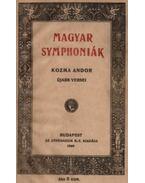 Magyar symphoniák (dedikált) - Kozma Andor