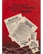 Okmányok a felszabadulás történetéhez Pest megyében - Krizsán László