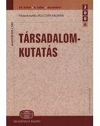 Társadalomkutatás 24.kötet 4. szám - Kulcsár Kálmán