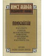 Monográfiák - Toldy Ferenc - Kuncz Aladár