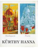 Kürthy Hanna - Budapest/Paris