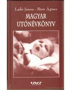 Magyar utónévkönyv - Ladó János, Bíró Ágnes