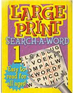 Large Print Search-A-Word 1.